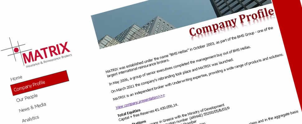 Matrix     Συμβουλευτικές Φορολογικές Υπηρεσίες και εξειδικευμένες εργασίες για μεταβίβαση μειοψηφικού πακέτου 25% σε υφισταμένους μετόχους